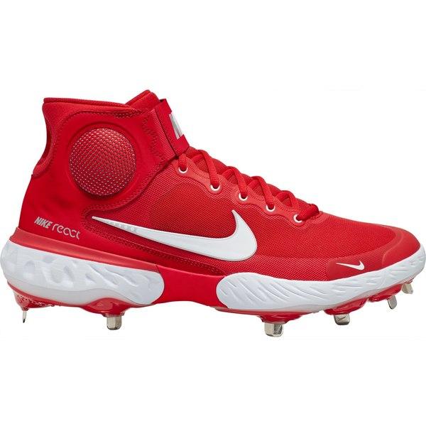 Nike ランキングTOP10 メンズ スポーツ 野球 Red 全商品無料サイズ交換 ナイキ Men's Alpha Cleats Baseball Hurrache Elite 国内正規品 3 Mid