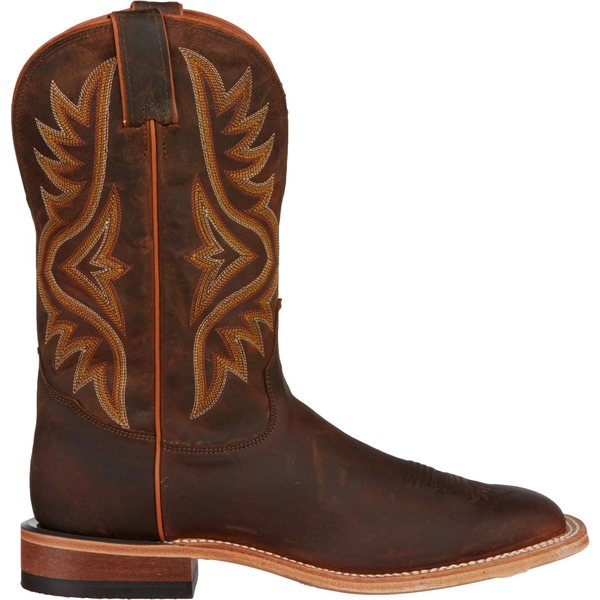 Tony Lama メンズ シューズ ブーツ レインブーツ Brown 大人気 全商品無料サイズ交換 トニーラマ Western 最新アイテム Worn Boots Americana Men's Goat