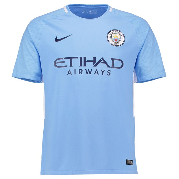 ナイキ メンズ ユニフォーム トップス Manchester City Nike 2018/19 Away Replica Stadium Jersey Navy