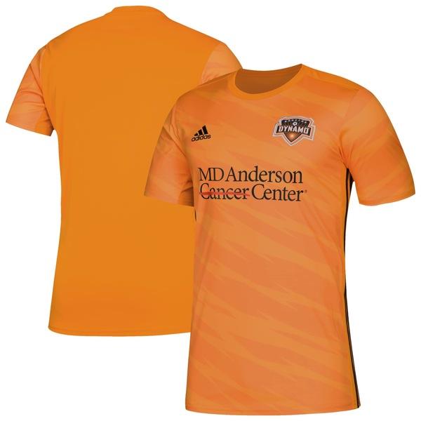 アディダス メンズ ユニフォーム トップス Houston Dynamo adidas 2019 Primary Replica Jersey Orange