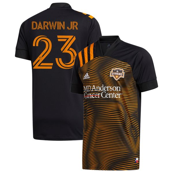 アディダス メンズ ユニフォーム トップス Darwin Quintero Houston Dynamo adidas 2020 HTX 15 Replica Jersey Black