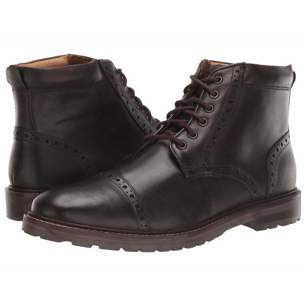 フローシャイム メンズ ブーツ&レインブーツ シューズ Fenway Cap Toe Boot Brown Chocolate