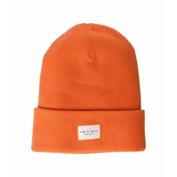 ラグアンドボーン レディース アクセサリー 帽子 Bright Orange 全商品無料サイズ交換 ラグアンドボーン レディース 帽子 アクセサリー Addison Beanie Bright Orange