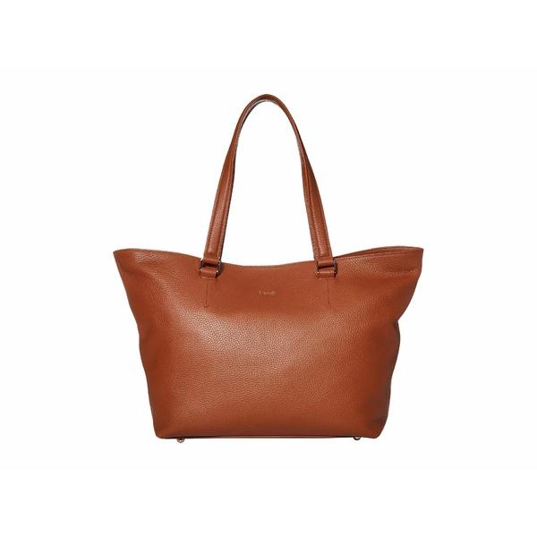 リパルトパリ レディース ハンドバッグ バッグ Invitation Leather Tote Bag Caramel