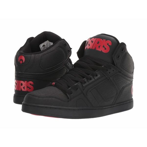 オサイラス メンズ スニーカー シューズ NYC 83 Classic Black/Red
