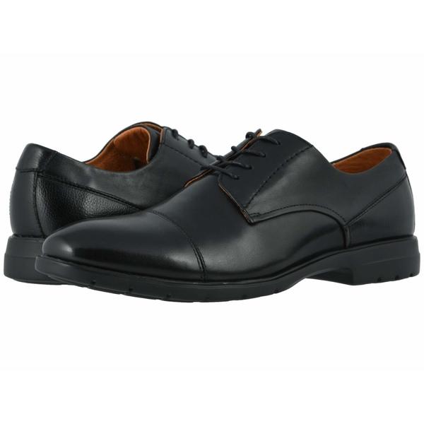 フローシャイム メンズ ドレスシューズ シューズ Westside Cap Toe Oxford Black Smooth