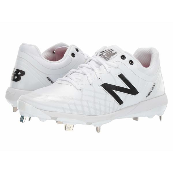 ニューバランス メンズ スニーカー シューズ 4040v5 Metal White/White