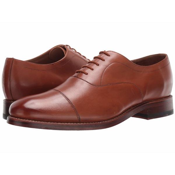 ボストニアン メンズ ドレスシューズ シューズ Rhodes Cap Tan Leather