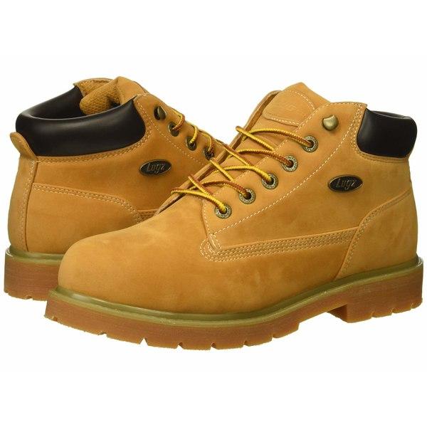ラグズ メンズ ブーツ&レインブーツ シューズ Drifter Mid Steel Toe Golden Wheat/Bark/Gum
