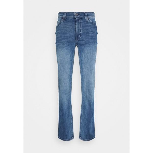 ムスタング メンズ 上品 ボトムス デニムパンツ denim blue 全商品無料サイズ交換 jeans いよいよ人気ブランド dmkd016e - leg Straight TRAMPER