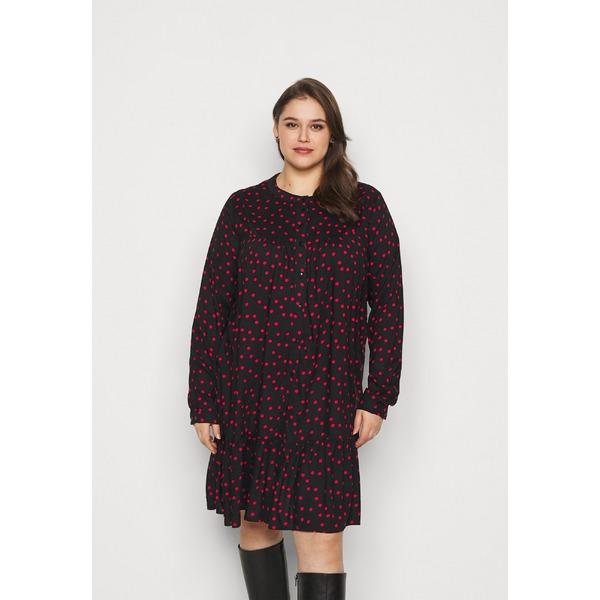 オンリー NEW カルマコマ レディース トップス ワンピース black red 全商品無料サイズ交換 Day 中古 CARNIA - LIFE dress DRESS dmkd0170