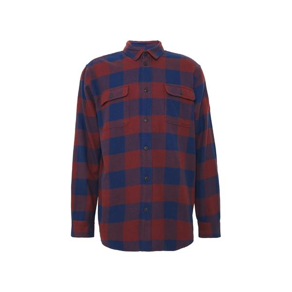 格安SALEスタート ヌーディージーンズ メンズ トップス シャツ red navy GABRIEL dmkd0170 全商品無料サイズ交換 高品質新品 Shirt -