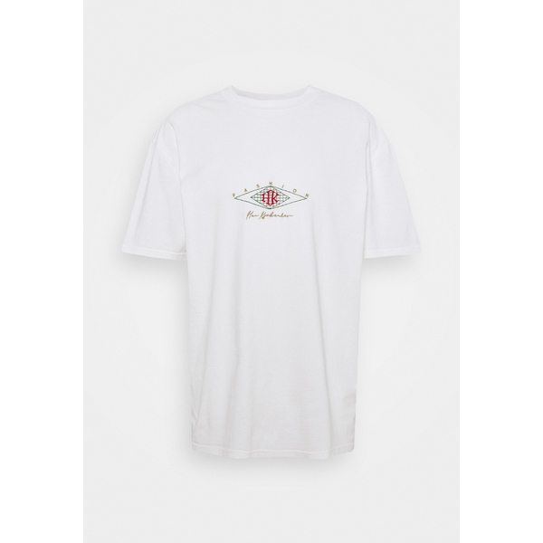 ハン 気質アップ 美品 コペンハーゲン メンズ トップス Tシャツ off white Print T-shirt - TEE BOXY 全商品無料サイズ交換 dmkd0172