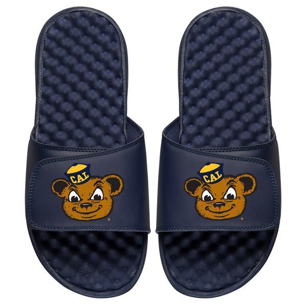 アイスライド メンズ サンダル シューズ Cal Bears ISlide Mascot Slide Sandals Navy