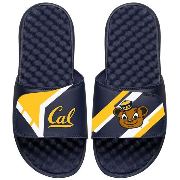 アイスライド メンズ サンダル シューズ Cal Bears ISlide Starter Jacket Slide Sandals Navy