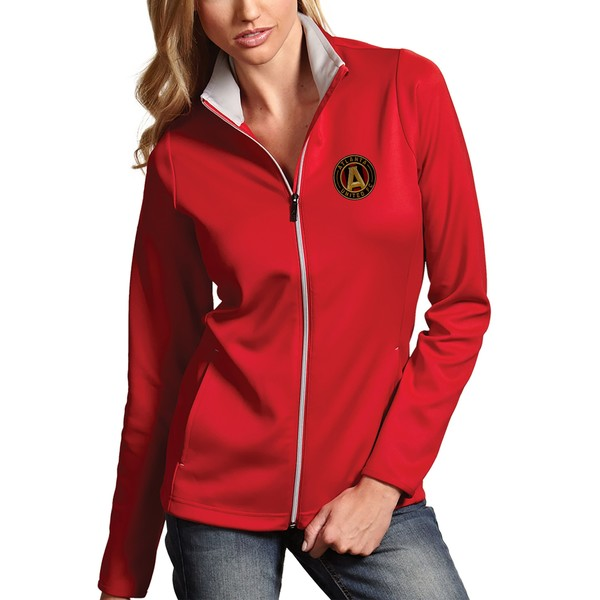 アンティグア レディース ジャケット&ブルゾン アウター Atlanta United FC Antigua Women's Leader Full Zip Jacket Red