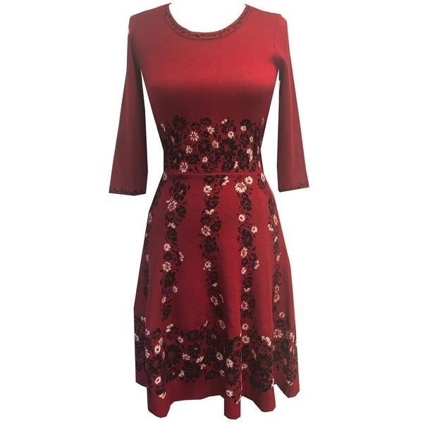 テイラー 2020A/W新作送料無料 レディース トップス ワンピース Ruby Black 限定価格セール Flare Fit 全商品無料サイズ交換 Floral-Print Dress