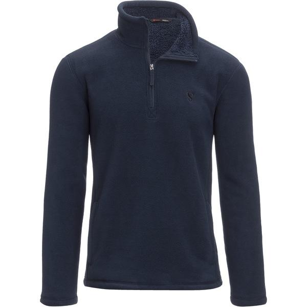 ストイック メンズ スキー スポーツ Half-Zip Fleece Jacket Solar Blue