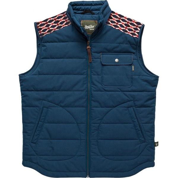 ハウラーブラザーズ メンズ ベスト トップス Shaman Vest U.s. Blue/Shakedown