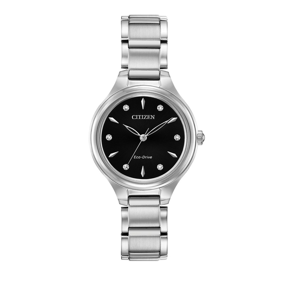シチズン レディース 腕時計 アクセサリー Corso Eco-Drive Strainless Steel Bracelet Watch Silver