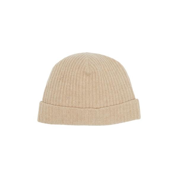 ポートラノ レディース 期間限定送料無料 アクセサリー 帽子 (人気激安) OATMEAL 全商品無料サイズ交換 Beanie Cashmere