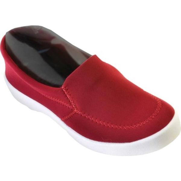 アルコペディコ レディース スニーカー シューズ Town Slip On Sneaker Bordeaux Lycra