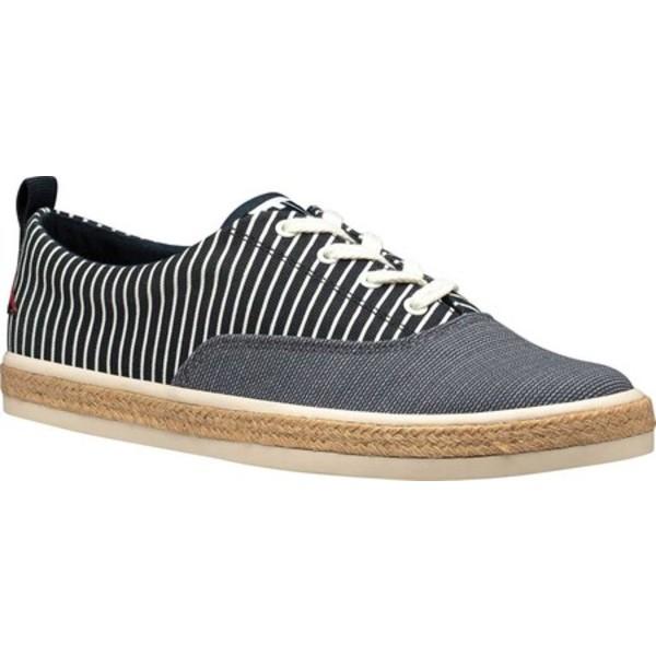 ヘリーハンセン レディース サンダル シューズ Coraline Sneaker Navy/Whitecap Gray Canvas