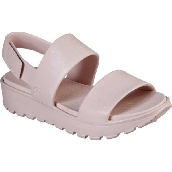 スケッチャーズ レディース サンダル シューズ Cali Gear Footsteps Breezy Feels Slingback Sandal Blush Pink