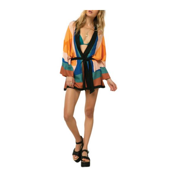 オニール レディース シャツ トップス Josie Woven Kimono Top Multicolored