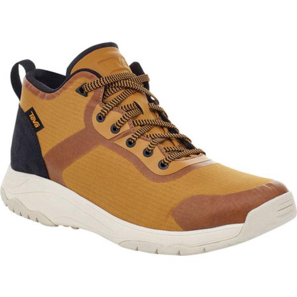 テバ メンズ ブーツ&レインブーツ シューズ Gateway Mid Hiking Sneaker Medallion Recycled Polyester/Suede
