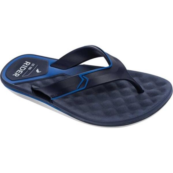 ライダー メンズ サンダル シューズ R Line Plus II Flip Flop Grey/Blue Synthetic