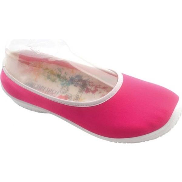 アルコペディコ レディース サンダル シューズ Lolita-B Ballet Flat Fuchsia Synthetic
