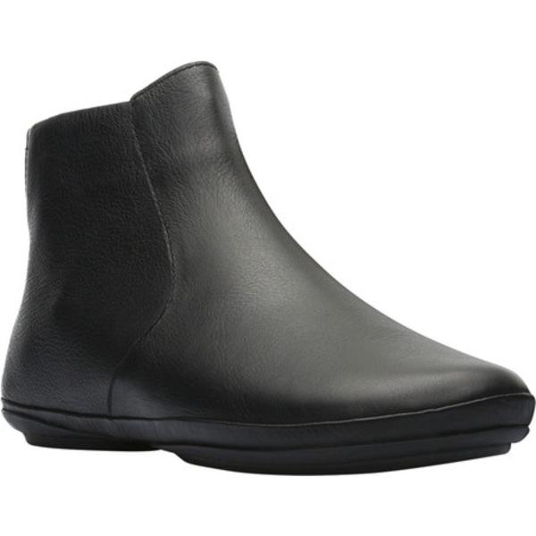 カンペール レディース ブーツ&レインブーツ シューズ Right Ankle Boot Black Smooth Leather