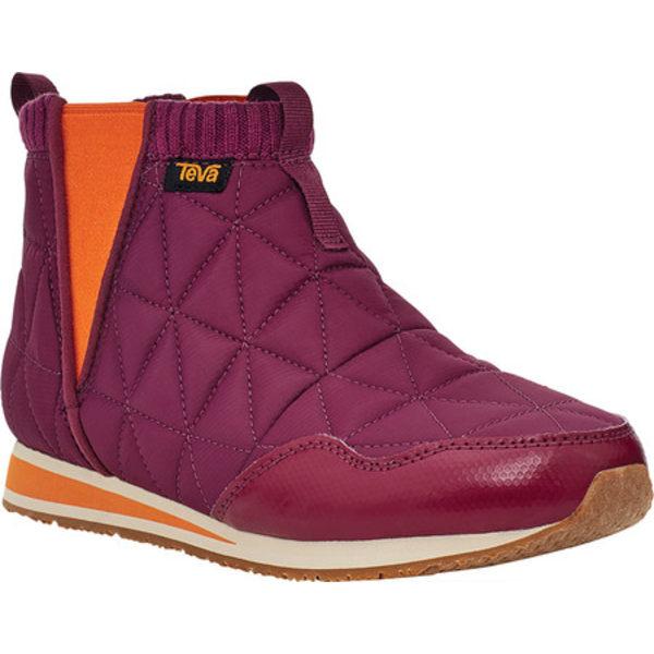 テバ レディース ブーツ&レインブーツ シューズ Ember Mid Ankle Boot Amaranth Quilted Nylon