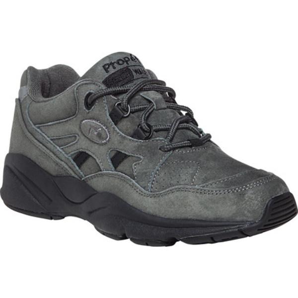 プロペット レディース スニーカー シューズ Stability Walker Shoe Pewter Suede
