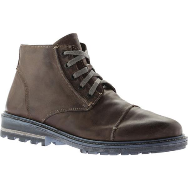 ナオト メンズ ブーツ&レインブーツ シューズ Mikumi Ankle Boots Vintage Fog/Mulberry Leather/Suede