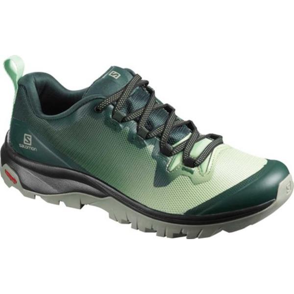 サロモン レディース ブーツ&レインブーツ シューズ Vaya Hiking Shoe Green Gables/Spruce Stone/Shadow