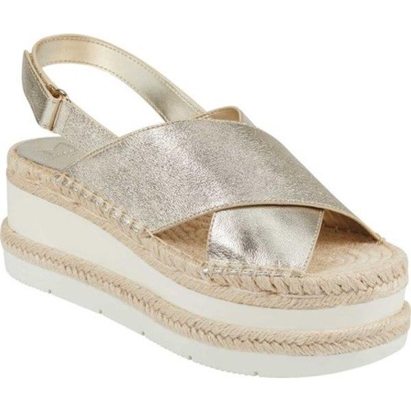 マークフィッシャー レディース サンダル シューズ Gandy Platform Slingback Sandal Platino New Grinch Lame Matte Leather