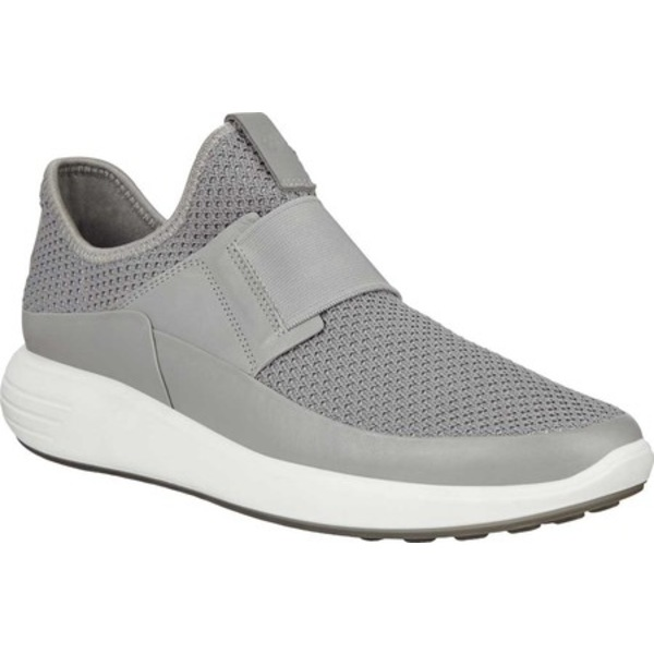 エコー レディース スニーカー シューズ Soft 7 Runner Slip On Sneaker Wild Dove/Wild Dove Smooth Leather/Textile