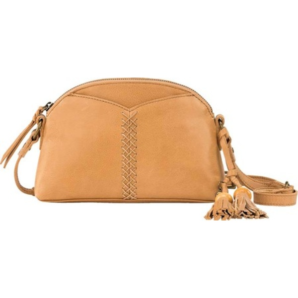ザサック メンズ 財布 アクセサリー Laurel Canyon Dome Crossbody Scotch Soft Pebble Leather