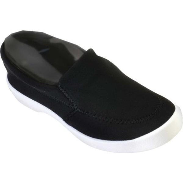 アルコペディコ レディース スニーカー シューズ Town Slip On Sneaker Black Lycra