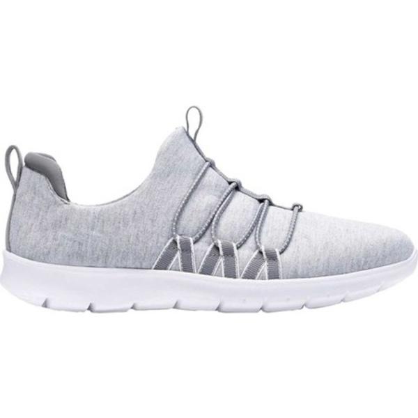 クラークス レディース スニーカー シューズ Step Allena Mae Sneaker Grey Textile