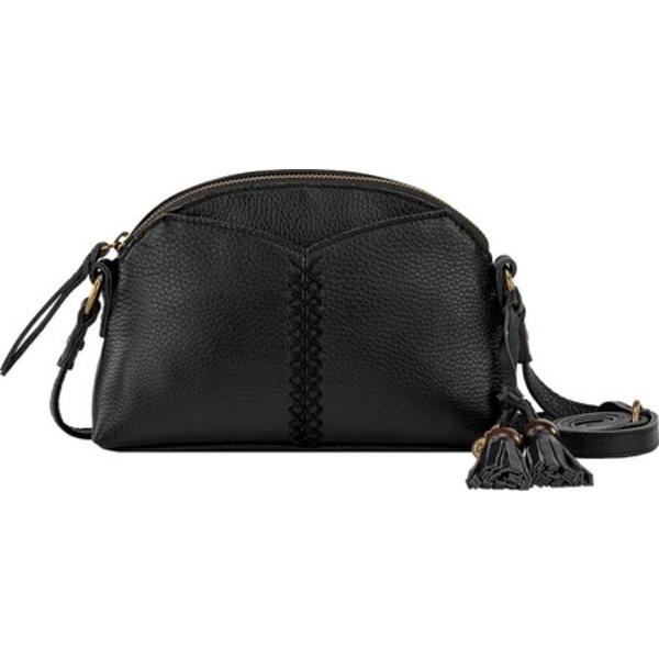 ザサック メンズ 財布 アクセサリー Laurel Canyon Dome Crossbody Black Soft Pebble Leather