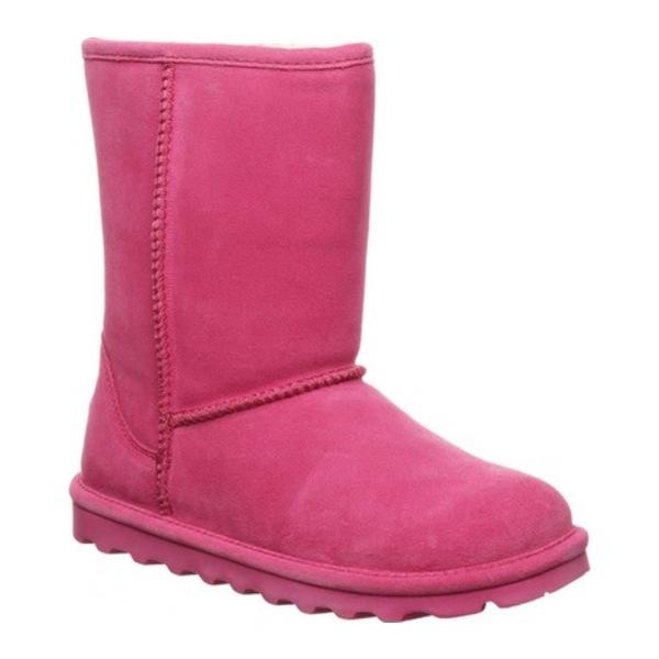 ベアパウ レディース スニーカー シューズ Elle Short Boot Party Pink Suede