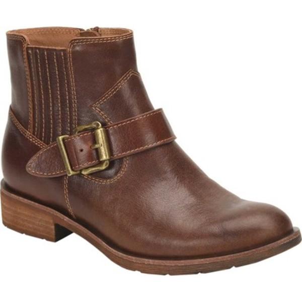 ソフト レディース ブーツ&レインブーツ シューズ Brocke Waterproof Bootie Whiskey Waterproof Wild Steer Leather