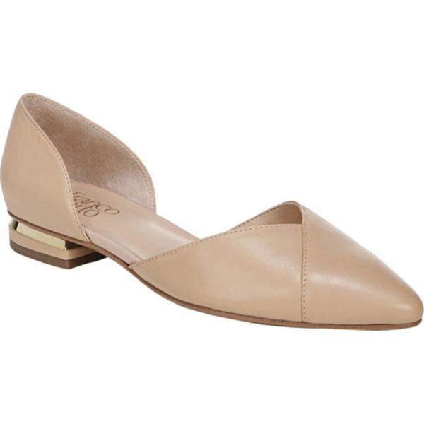 フランコサルト レディース サンダル シューズ Sattara Pointed Toe D'Orsay Nude Leather