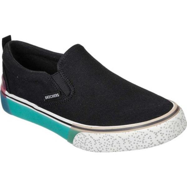 スケッチャーズ レディース スニーカー シューズ Sparked Cool As Ice Slip-On Sneaker Black