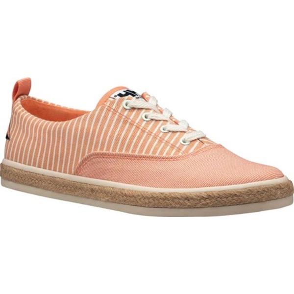 ヘリーハンセン レディース サンダル シューズ Coraline Sneaker Melon/Whitecap Gray Canvas
