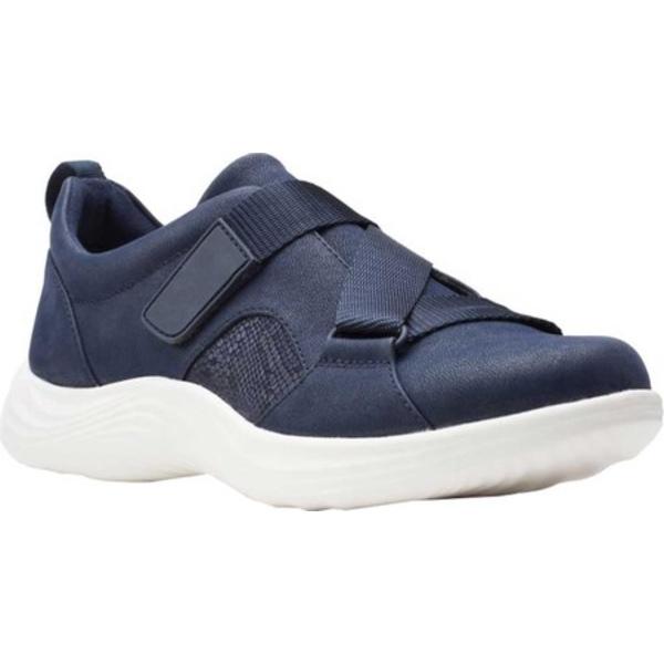 クラークス レディース スニーカー シューズ Lulu Go Sneaker Navy Textile