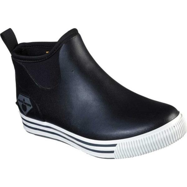 スケッチャーズ メンズ ブーツ&レインブーツ シューズ Work Moltke WP Pull On Boot Black